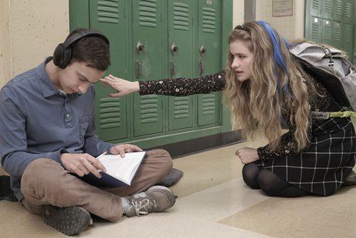 Keir Gilchrist &Jenna Boyd/Greg Gayne/Netflix