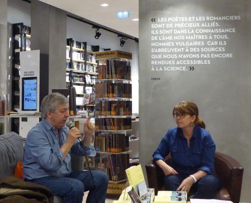 Sorj Chalandon répond à Valérie Caffier (librairie Le Divan, 24 septembre 2017) / CDD / Addict-Culture