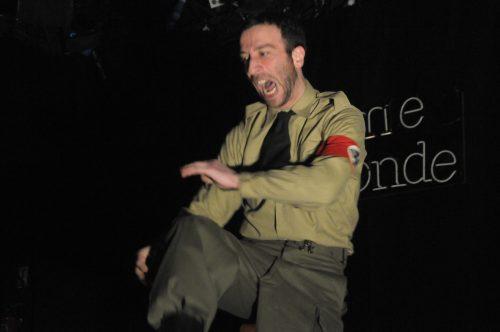David Nathanson / Le Nazi et le Barbier / Les Ailes de Clarence / DR