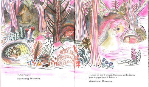 « Petites histoires de nuits », Kitty Crowther, Pastel – Ecole des Loisirs