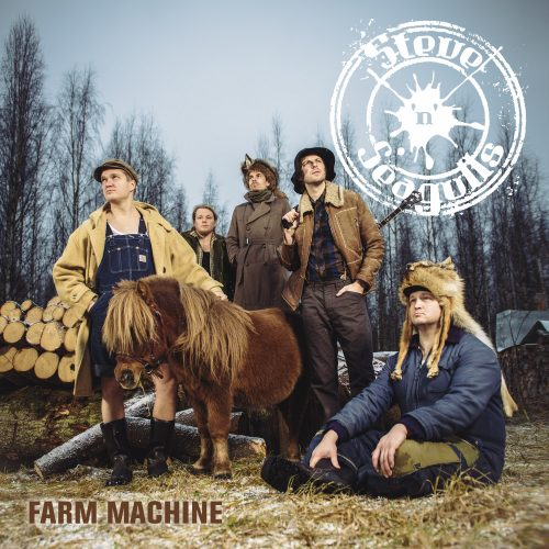 """Farm Machine"" de Steve 'N' Seagulls // Service de presse // Spinefarm records"