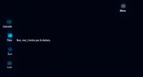 Calls Canal+, capture d'écran