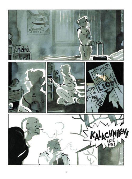 L'homme aux bras de mer Itinéraire d'un pirate somalien / Simon Rochepeau / Adaptation, dessin et couleur de Thomas Azuélos / Fututopolis