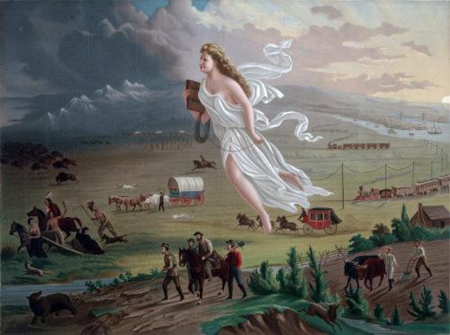 John Gast, American Progress, 1872.